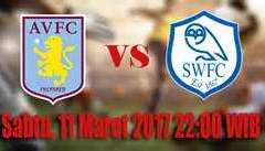 Villa – Sheff Weds; I predict a win