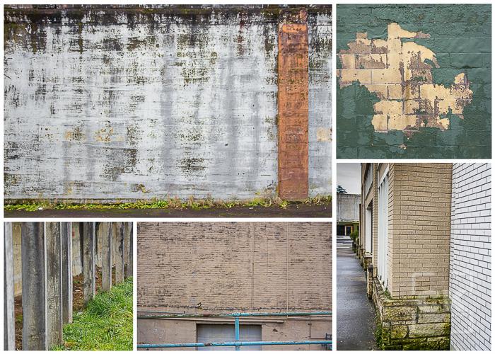 Astoria Senior Photography - downtown Astoria Oregon textures
