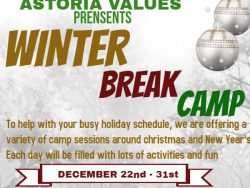 2018 winter break flyer