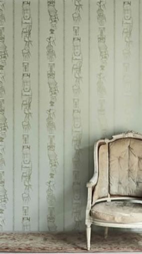 Chairs in Eau de Nil