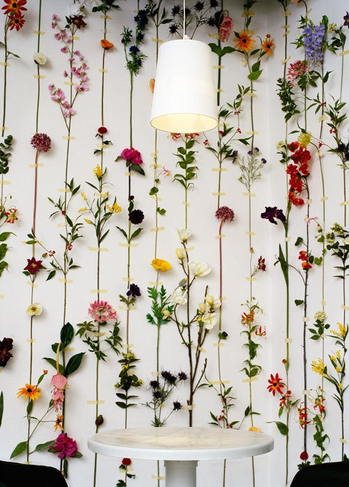 Flower Walls A Storied Style