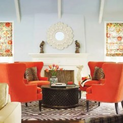4 Chairs In Living Room Area Rug Pictures Conversation Seating Four The Round A Storied Style