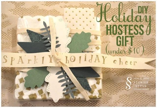 DIY Holiday Hostess Gift
