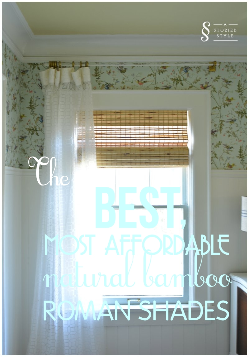 Secret Sources The Best Most Affordable Bamboo Shades A