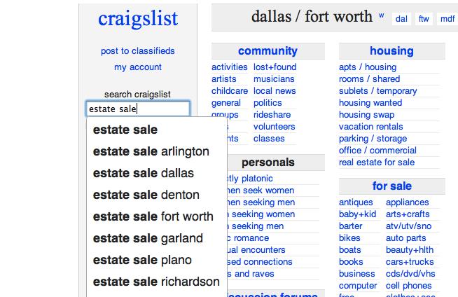 Craigslist Dallas Handyman