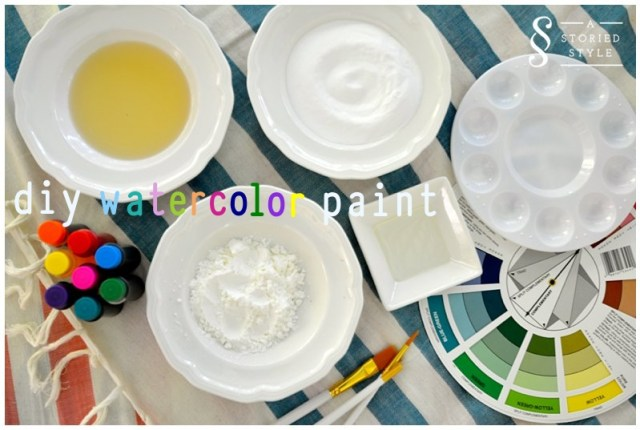 diy watercolor paint