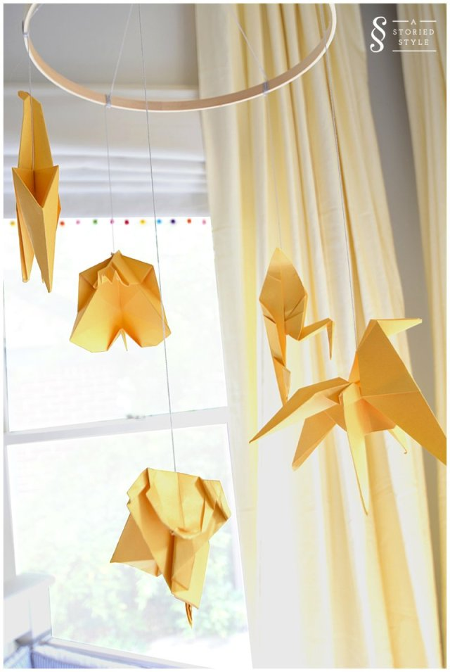 origami mobile by trang phan