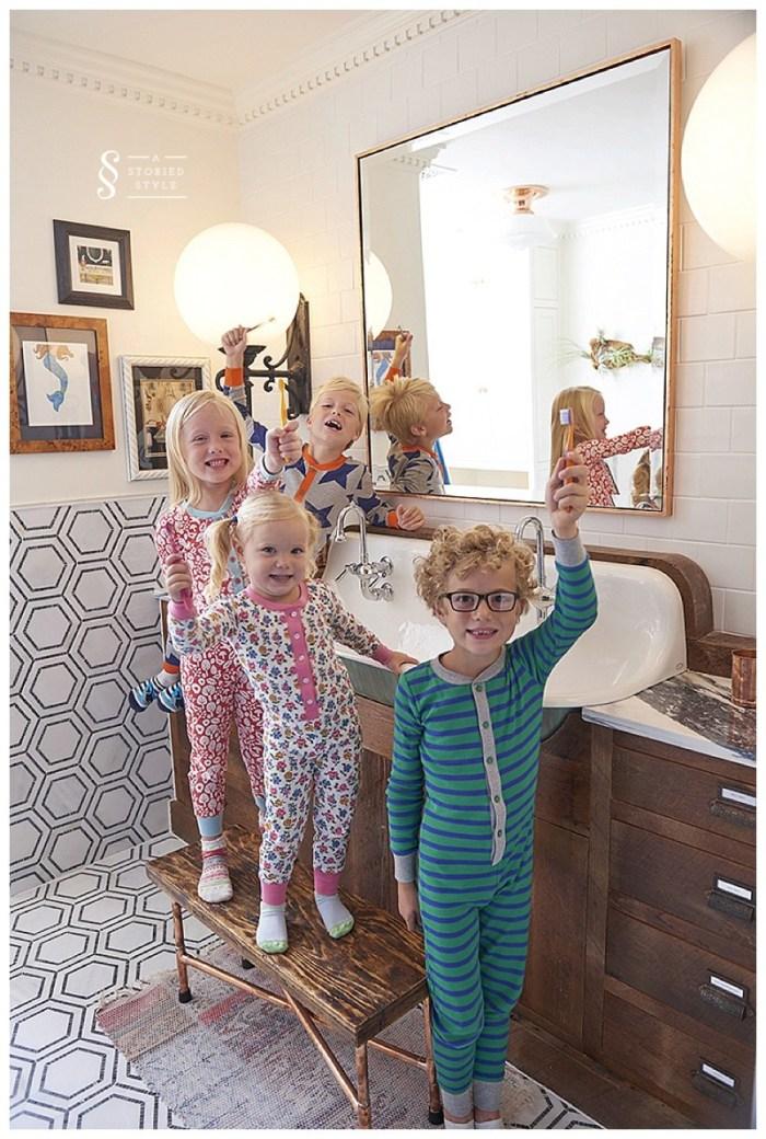 kids bathroom makeover