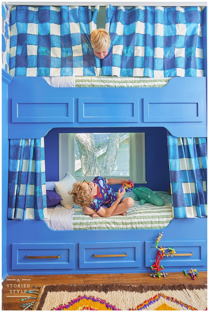 bunk room curtains