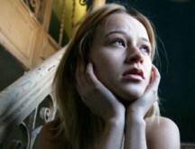 Sad woman depression