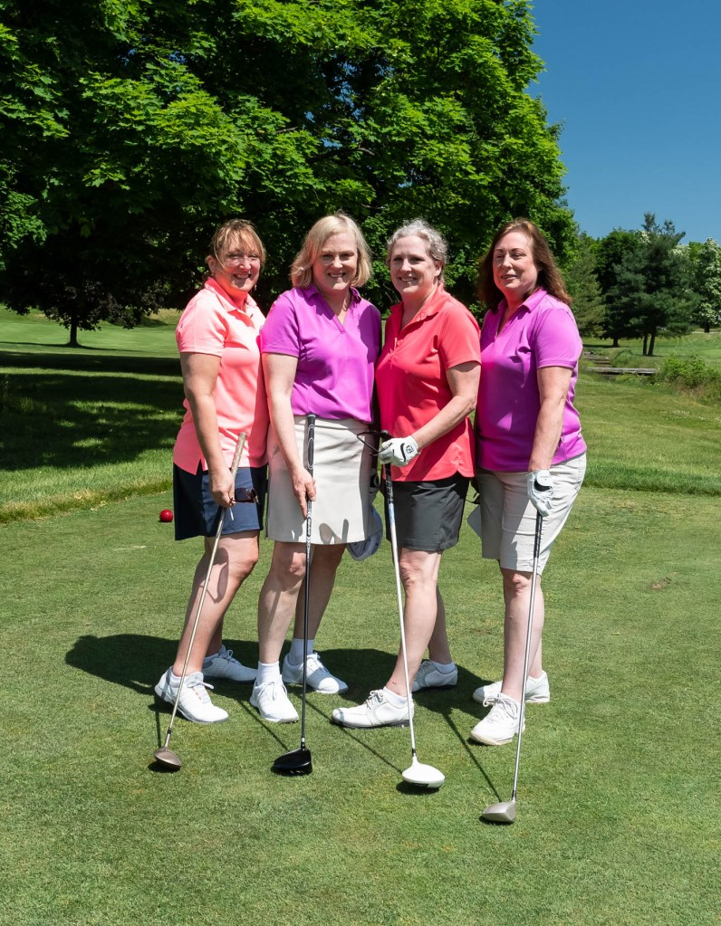 "The ""Stenberg Sisters:"" Carol Brundle, Sharon Dunbar, Lisa Edgerton, and Lynne Silva."