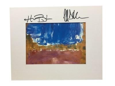 Autographed Brick Ocean Print