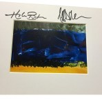 Autographed What Do You See Print