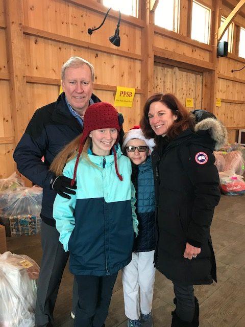 Astor Foundation Board Member Kim McConville and her family
