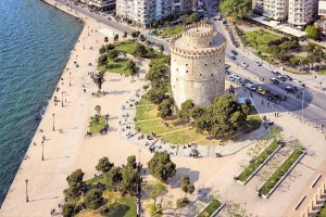 Thessaloniki White Tower square