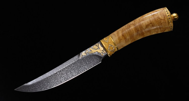 how to identify real damascus steel from fake