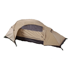 mil tec recon one man tent coyote