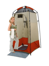 deluxe shower toilet changing room tent