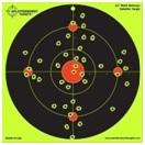 12 multi bullseye splatter burst shooting targets