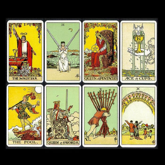 Original Rider Waite Tarot Cards Astral Aspects