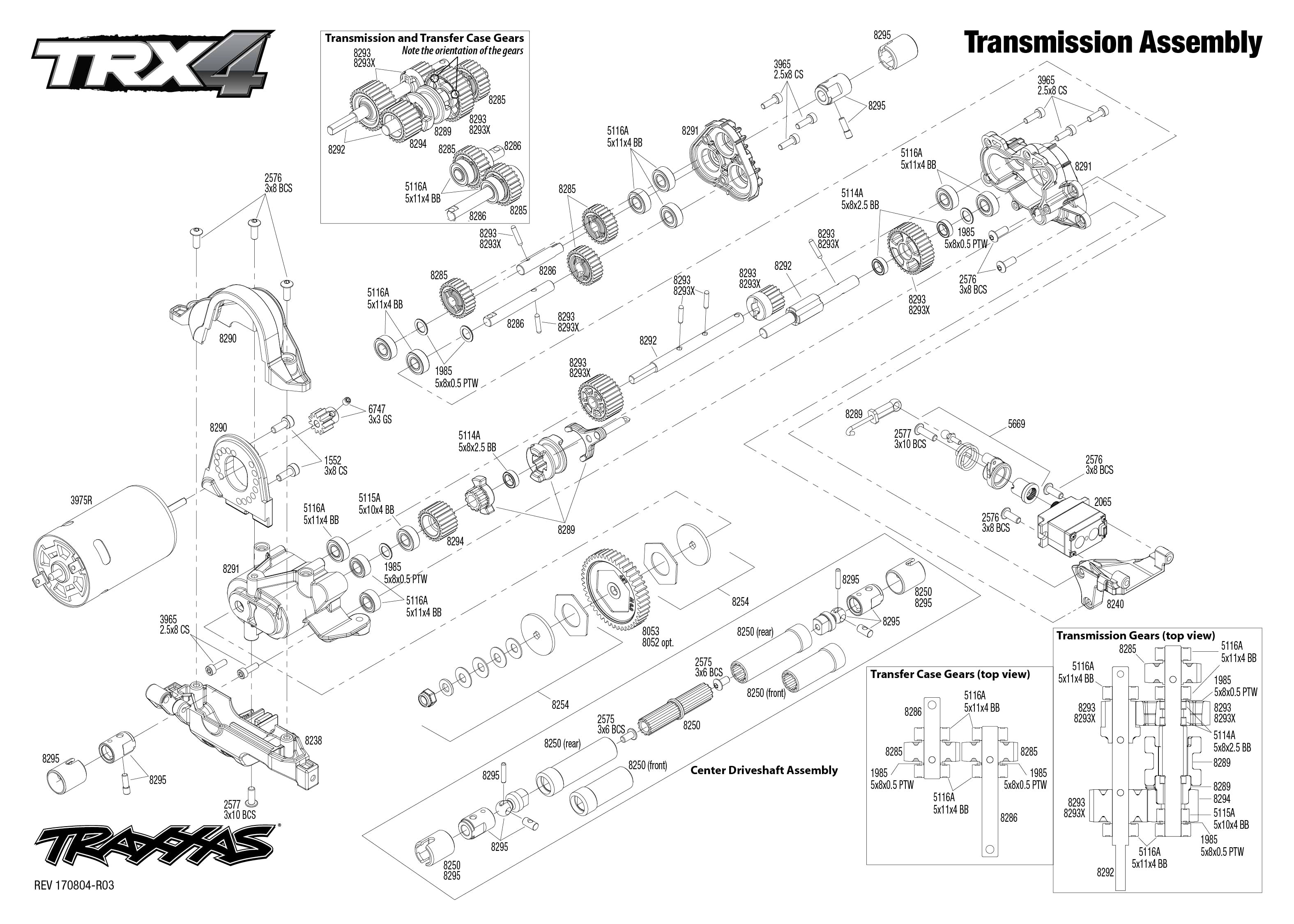 exploded view traxxas trx 4 land rover defender transmission astra land rover transmission wiring land rover transmission diagrams [ 3150 x 2250 Pixel ]
