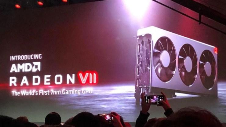 Η νέα κάρτα γραφικών Radeon VII της AMD είναι ισχυρότερη από την RTX 2080 της Nvidia