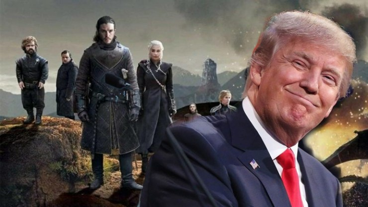 Game of Thrones: Δεν μεταδόθηκε το φινάλε στην Κίνα λόγω Τραμπ