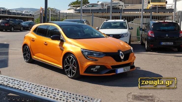 Παραδόθηκε στην Ελλάδα το πρώτο Renault Megane RS
