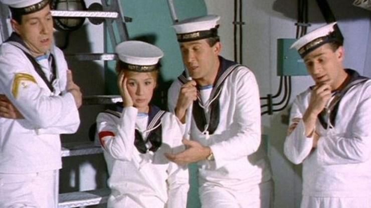 «Η Αλίκη στο ναυτικό»: Η αδημοσίευτη φωτογραφία της Αλίκης Βουγιουκλάκη από τα γυρίσματα της ταινίας