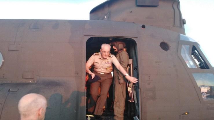 Εκτάκτως για τις πυρκαγιές στο 2ο Συγκρότημα Αεροπορίας Στρατού ο Αρχηγός ΓΕΣ