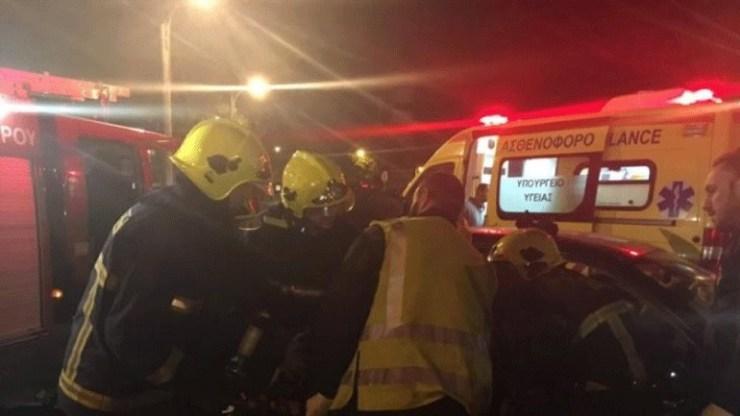 Τροχαίο ατύχημα με έναν τραυματία στη Δράμα