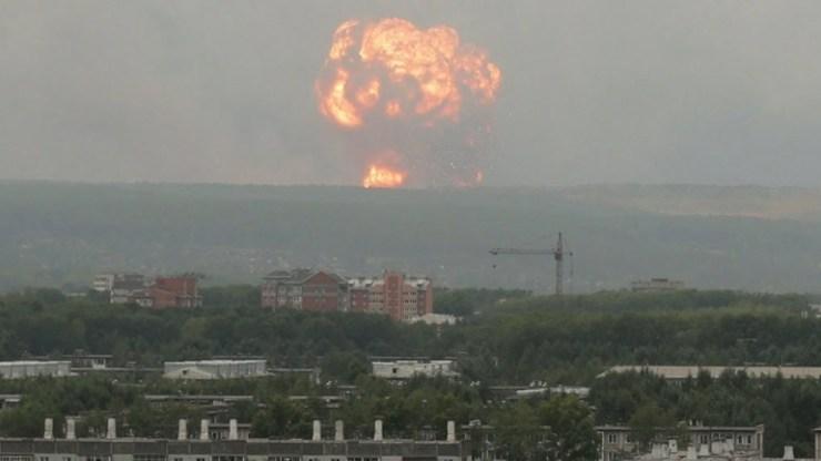 Ρωσία: Βρέθηκαν «δυνητικά επικίνδυνα αντικείμενα»  μετά το ατύχημα κατά τη διάρκεια δοκιμής πυραύλου