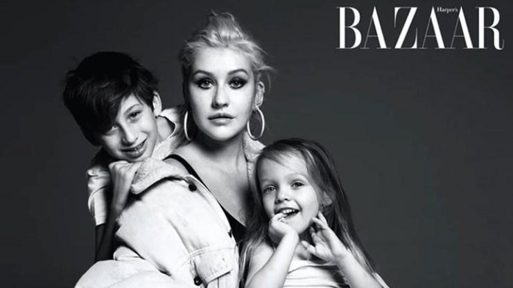 Η Christina Aguilera αντλεί μαθήματα ζωής από τα παιδιά της!