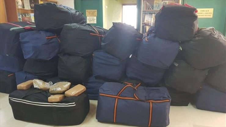 Ήπειρος: Κατασχέθηκαν 951 κιλά χασίς