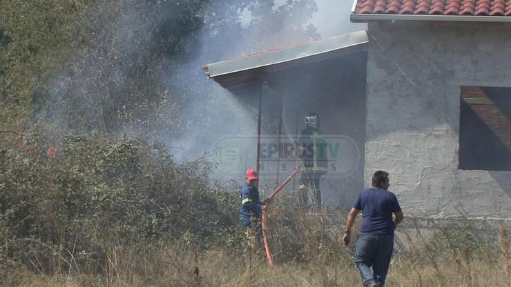 Ιωάννινα: Η Πυροσβεστική πρόλαβε τη φωτιά στην Πεδινή