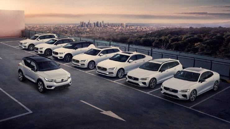 H Volvo μειώνει σε μεγάλο ποσοστό το περιβαλλοντικό της αποτύπωμα