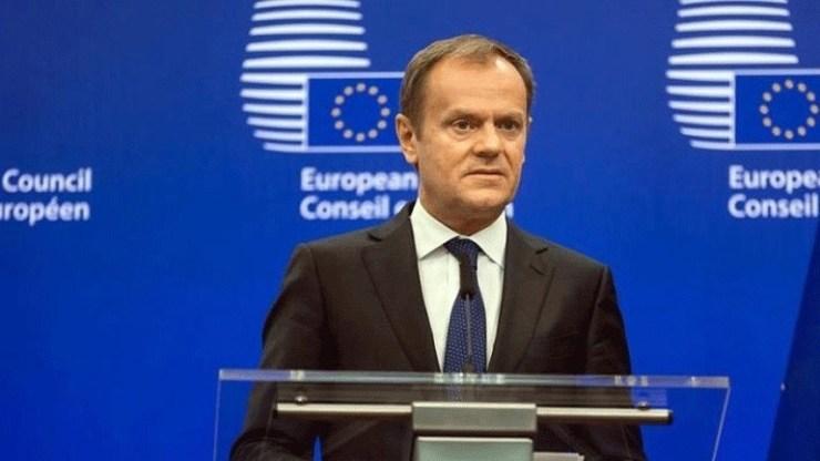 «Θα προτείνω στους 27 ηγέτες της Ε.Ε. να αποδεχθούν το βρετανικό αίτημα για νέα αναβολή του Brexit»