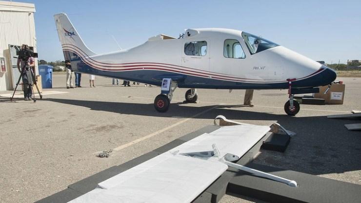 Η NASA παρουσίασε το πρώτο ηλεκτρικό αεροπλάνο της Χ-57 που θα πετάξει το 2020