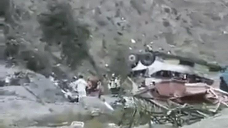 Τουλάχιστον 21 νεκροί σε τροχαίο με λεωφορείο στη Χιλή
