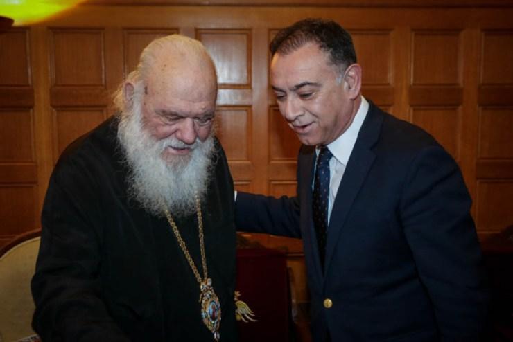Συνάντηση Κέλλα - Αρχιεπίσκοπου: «Νέα πνοή στις σχέσεις Κράτους-Εκκλησίας»