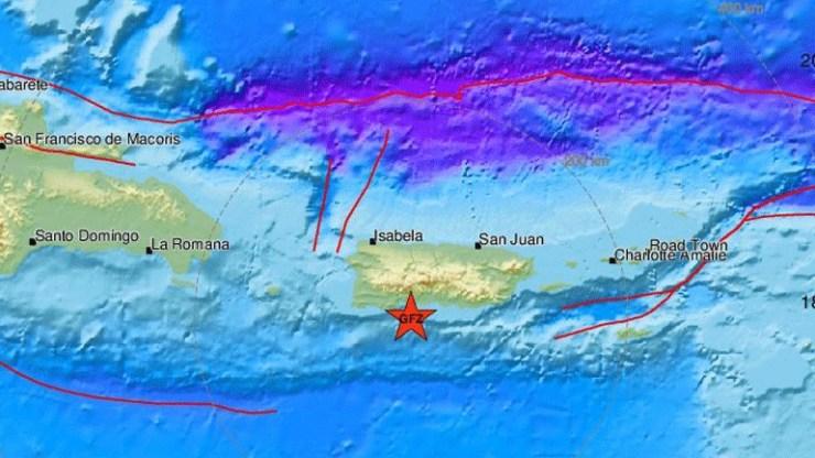 Σεισμός 4,8 Ρίχτερ στο Πουέρτο Ρίκο