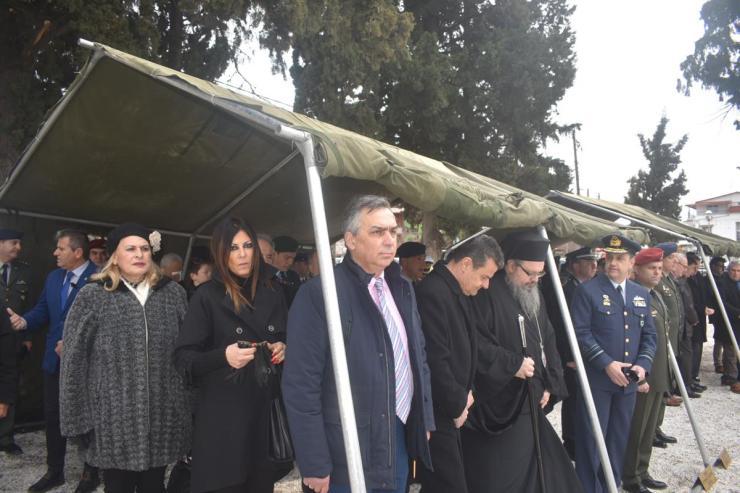 Μνημόσυνο στη Λάρισα στη μνήμη εκείνων που θυσίασαν τη ζωή τους για την πατρίδα (φωτό)