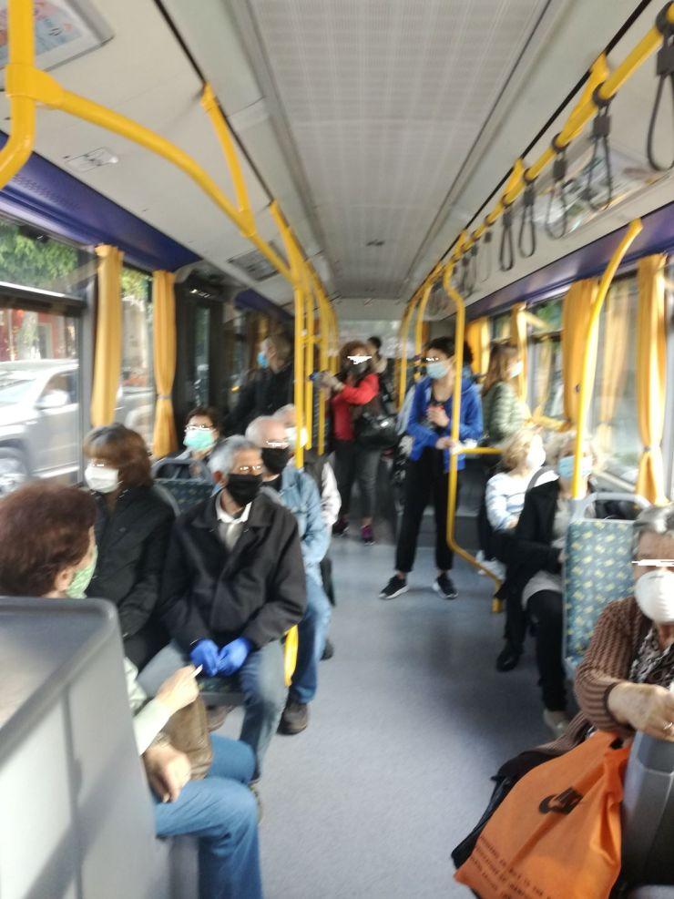 Μέλος Δ.Σ. Εργαζομένων ΠΠΓΝ Λάρισας καταγγέλλει ανεξέλεγκτη κίνηση επιβατών στο αστικό νο 4