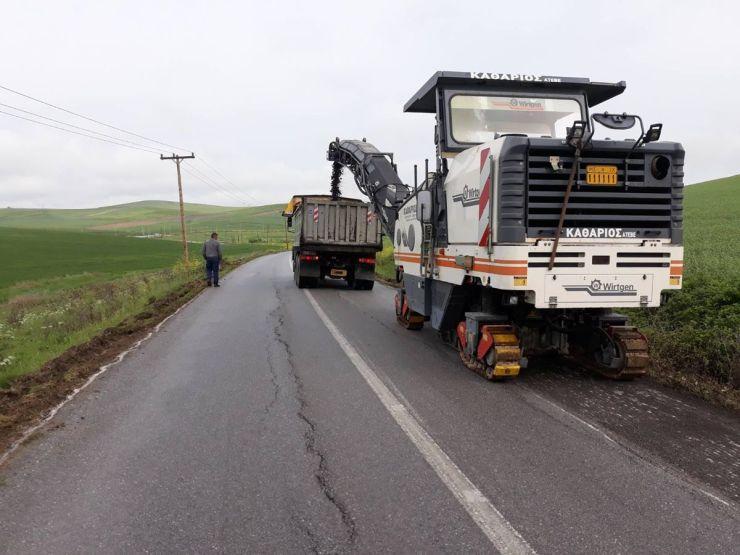 Ολοκληρώνεται ο δρόμος που συνδέει την π.ε.ο. Λάρισας – Φαρσάλων με τον οικισμό Σοφό