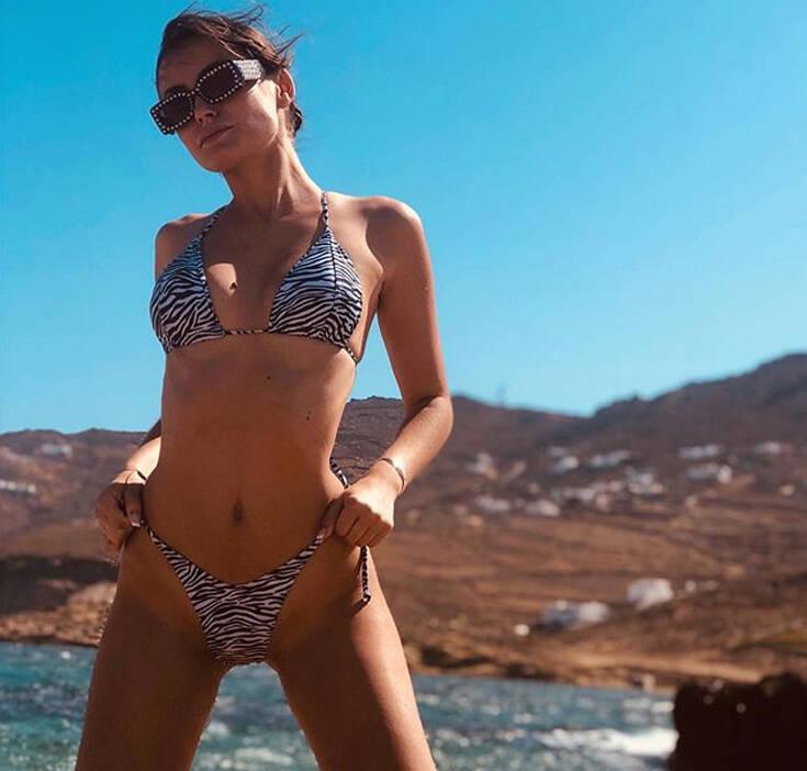 Μαρία Λέκκα: Οι φωτογραφίες της με μαγιό τα «σπάνε»