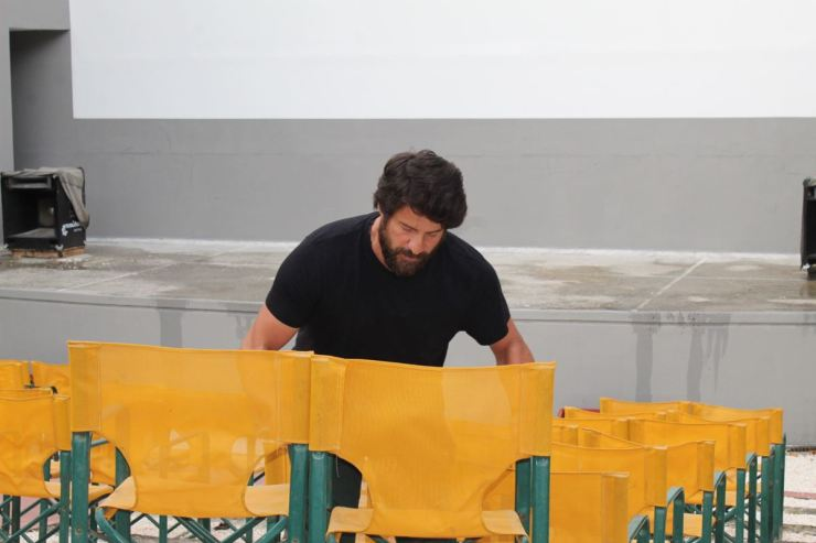 """""""Οδηγός"""" στην Ελλάδα της καμπάνιας #ΣινεμάΚαιΠάλι ο Αλέξης Γεωργούλης με """"φόντο"""" την Λάρισα - Τι δήλωσε στο onlarissa.gr (φωτο - βίντεο)"""