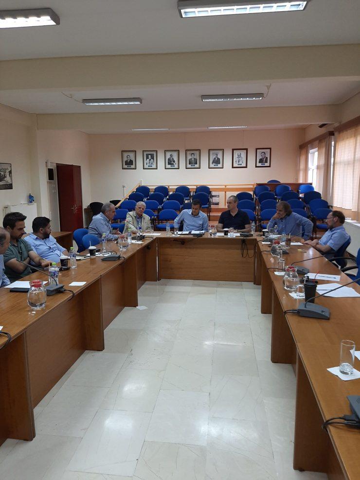 Σύσκεψη για το περιβάλλον στο Δημαρχείο Ελασσόνας