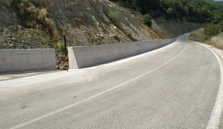 Σε εξέλιξη βρίσκονται από την Περιφέρεια Θεσσαλίας οι εργασίες βελτίωσης του δρόμου Βερδικούσια – Λογγά