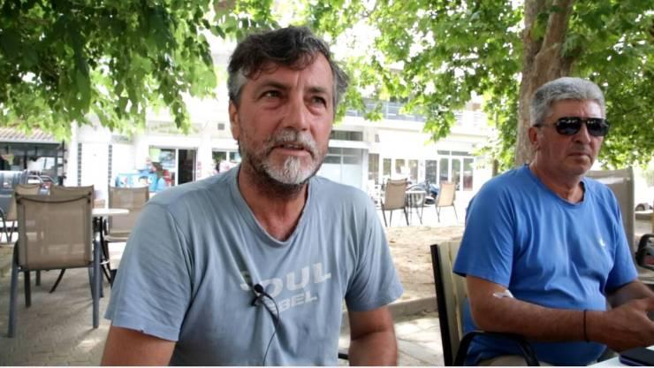 Στην περιοχή καλλιεργούμε αμπέλι και βάσει των ελέγχων που έκανε ο ΕΛΓΑ περίπου 12.000 στρέμματα έχουν υποστεί ζημία σε ποσοστό 80%» λέει στο CNN Greece o κ. Γιάννης Γκανάς, πρόεδρος του Αγροτικού Συλλόγου Αμπελουργών Δαμασίου