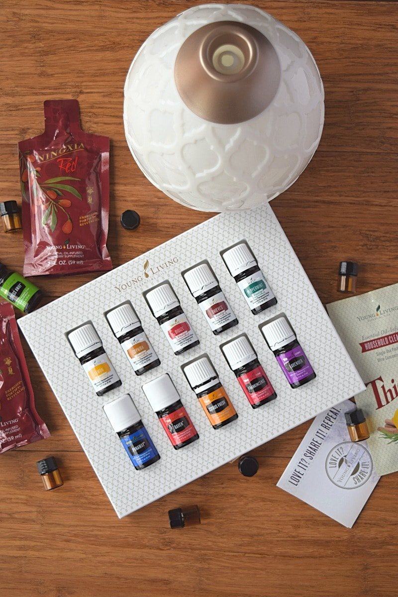 Young Living Essential Oil Premium Starter Kit A Stray Kitchen Savvy Minerals Makeup By Independent Distributor Member 11983273